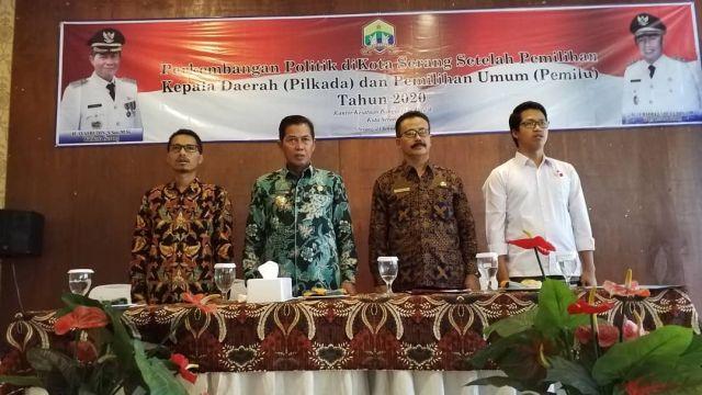 Rapat Perkembangan Politik di Kota Serang setelah Pilkada dan Pemilu Tahun 2020