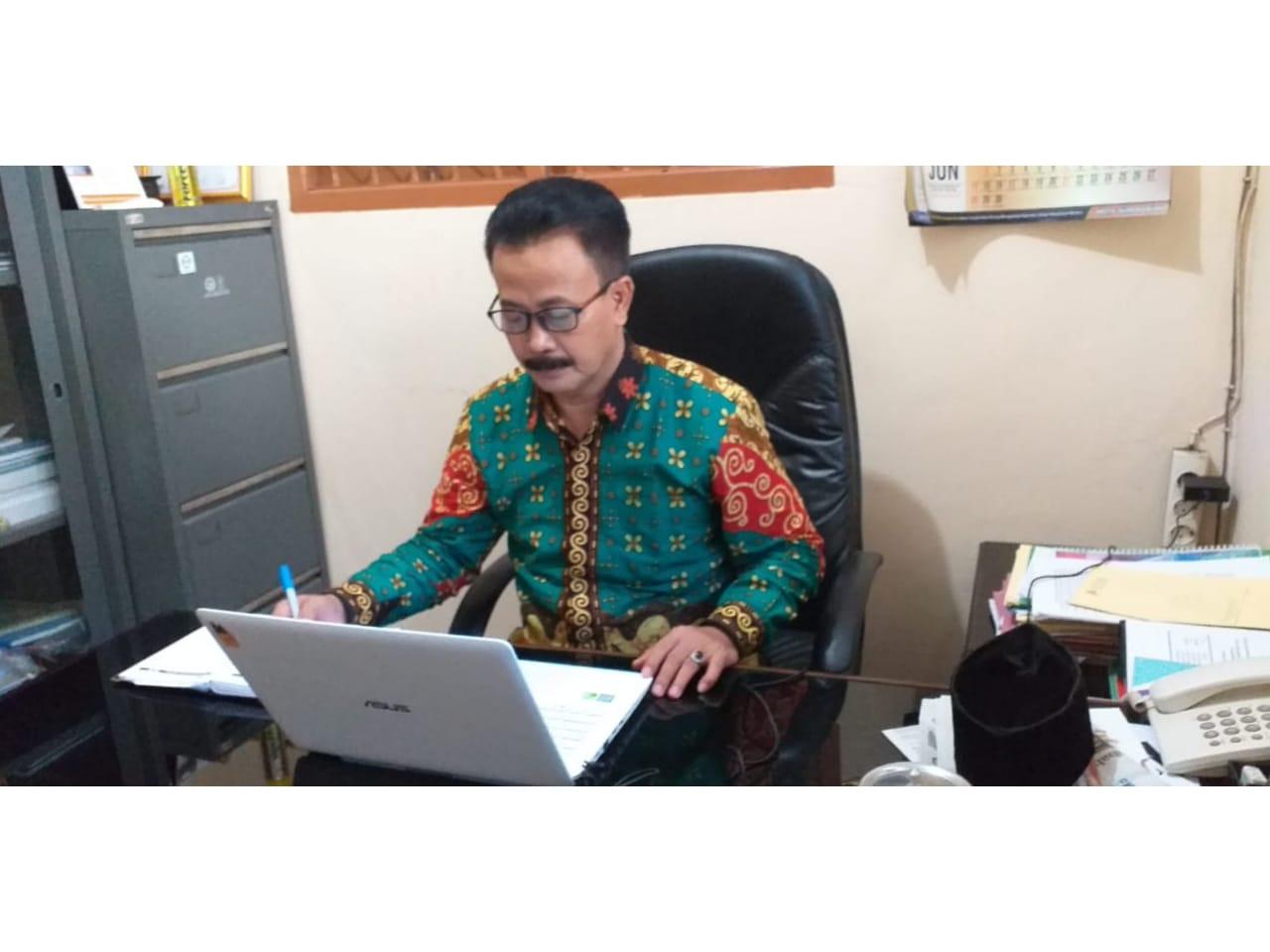 Video Conference bersama Plt. Dirjen Politik dan PUM serta kesbangpol kab/kota seluruh indonesia